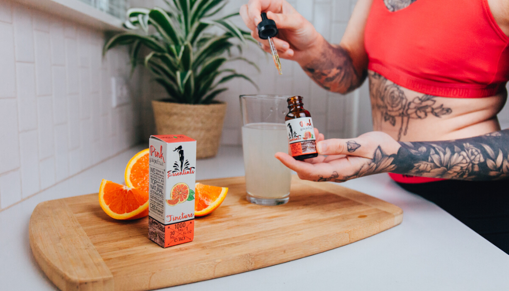 Adding Orange CBD Tinctures to Food and Drinks