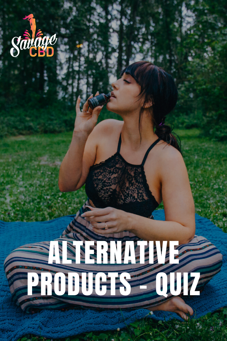 Alternative Products - Quiz Pinterest