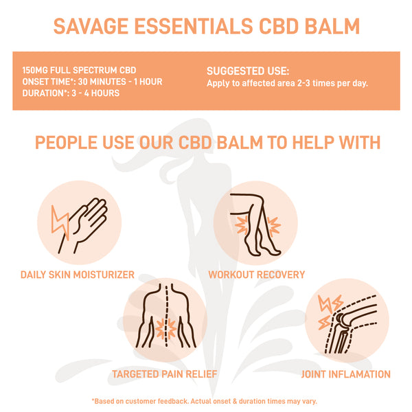 Savage Essentials CBD Balm