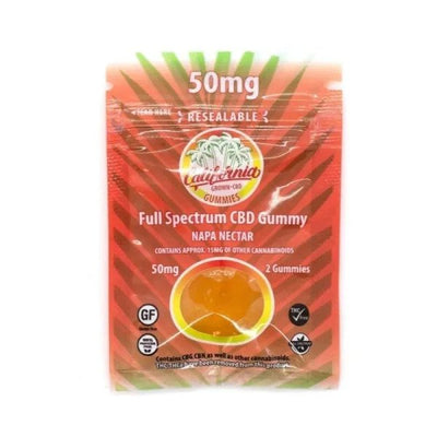 Napa Nectar Full spectrum Gummies by California Grown CBD