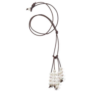 Freshwater Pearl Tassel Necklace