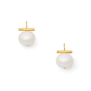 Pebble Pearl Earrings
