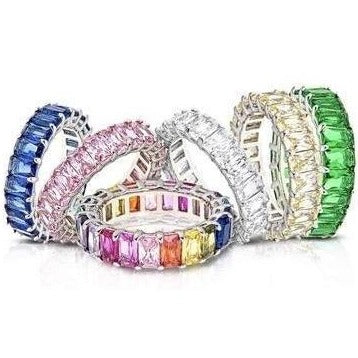 CZ Eternity Bands