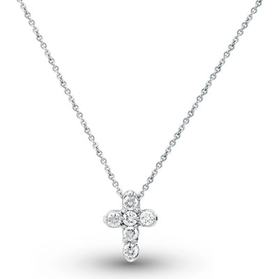 Petite Diamond Cross