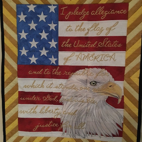 Bald Eagle Wall Quilt
