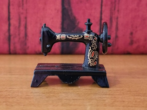 Miniature Antique Sewing Machine