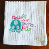 Shake Your Bunny Tail Dish Rag