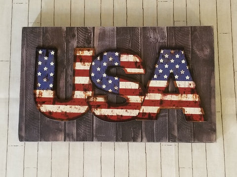 USA Wall Sign