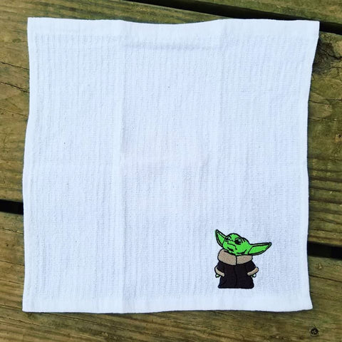 Baby Yoda Inspired Dishcloth