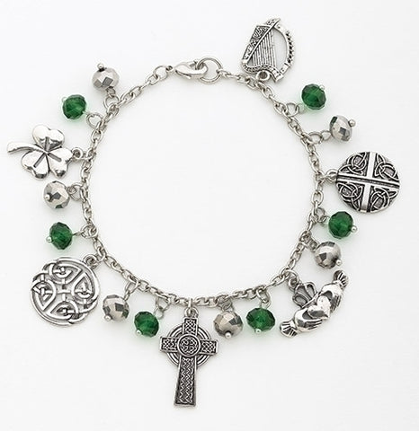 Irish Charm Chain Bracelet