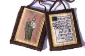St. Jude Brown Scapular