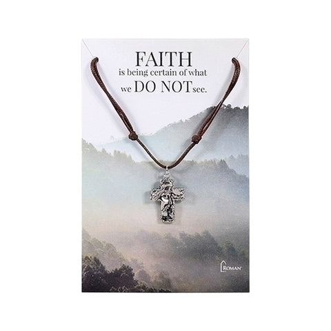 JESUS CROSS NECKLACE