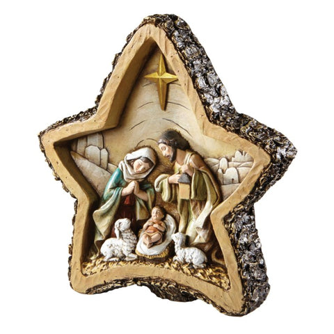 Star Nativity Figure Statue