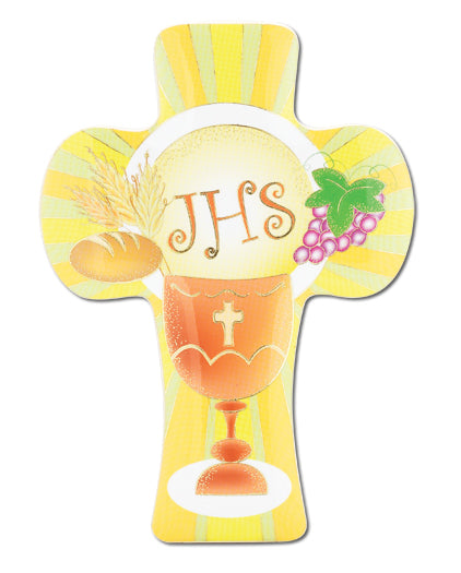FIRST COMMUNION CROSS WITH GLOSS FINISH