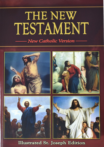 The New Testament, NCV, Illustrated St. Joseph Edition