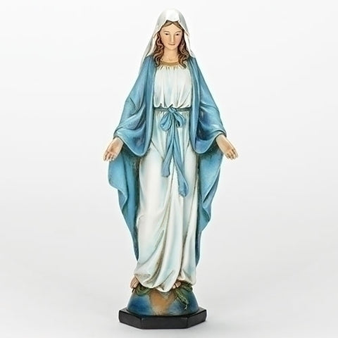 "10.25""H OUR LADY OF GRACE STATUE"
