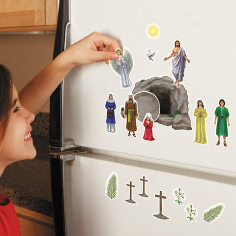 The Easter Story Magnet Set