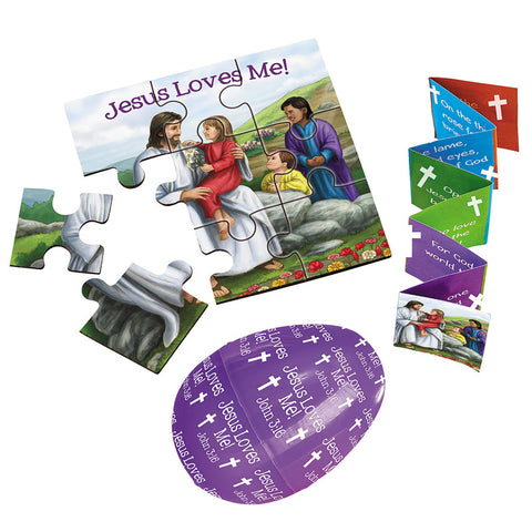 The Easter Story Kit with Puzzle