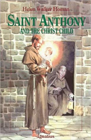 Saint Anthony and The Christ Child book