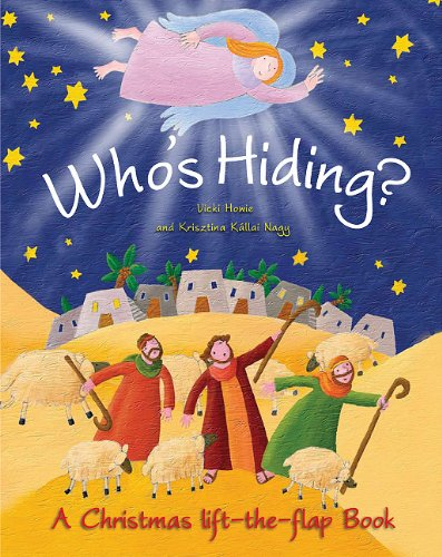 Who's Hiding A Christmas lift-the-flap book