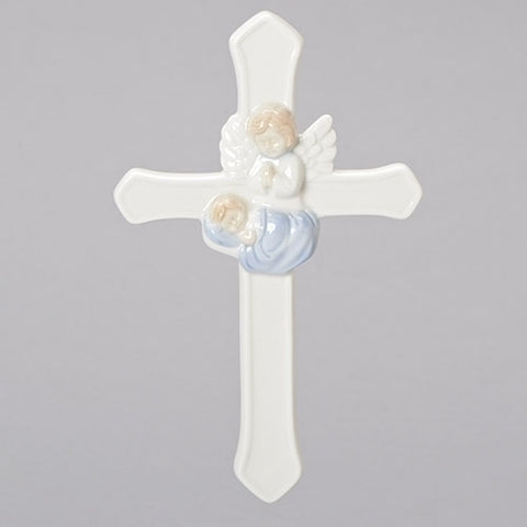 "7.25"" VALENCIA BOY GUARDIAN ANGEL CROSS"