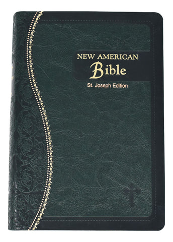 New American Bible St. Joseph Edition, green