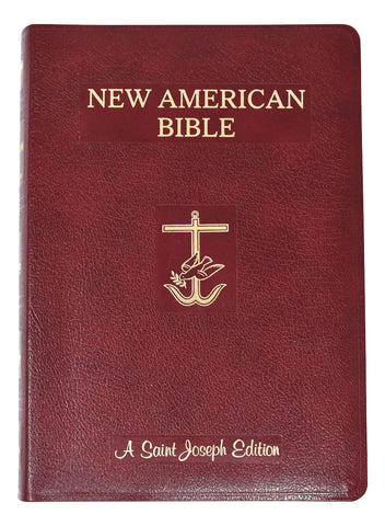 St. Joseph New American Bible, giant print