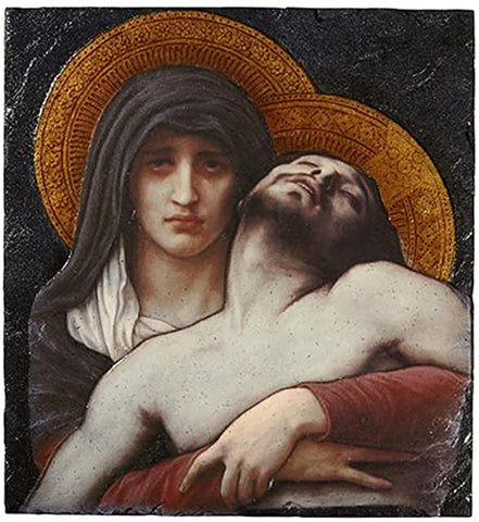 "MS 8""x10"" Pieta Plaque"