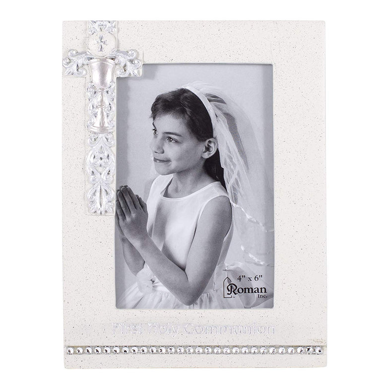 "8""H First Communion Frame 4x6"