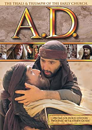 A.D.- The Trials & Triumph of the Early Church - DVD