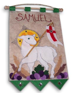 1st Communion Banner: Lamb of God