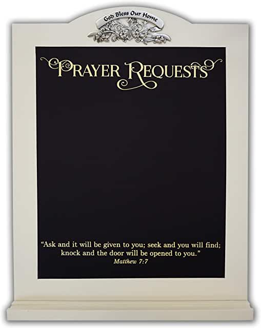 Prayer request chalkboard