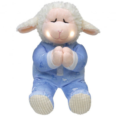 Cuddle Barn Pray With Me Lamb Plush (Blue)