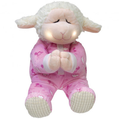 Cuddle Barn Pray With Me Lamb Plush (Pink)