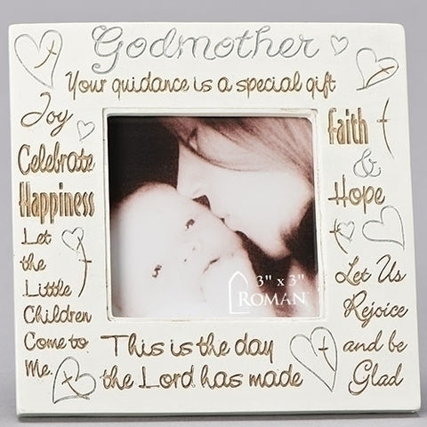 "4.5""H GODMOTHER FRAME for 3X3 Picture"
