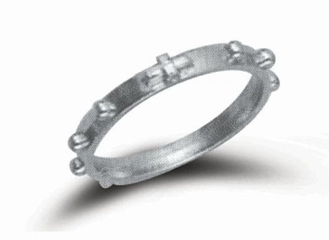 Rosary Ring with Cross