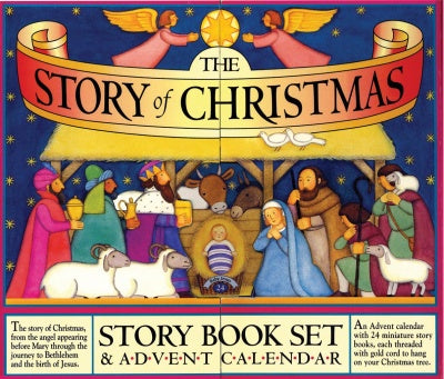 The story of christmas with advent calendar