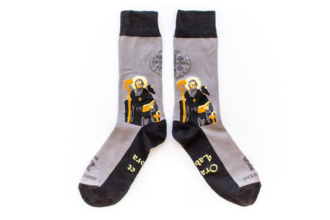 St. Benedict Socks - Adult