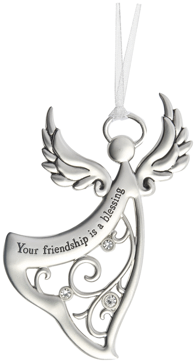 Angel Ornament Your friendship is a blessing