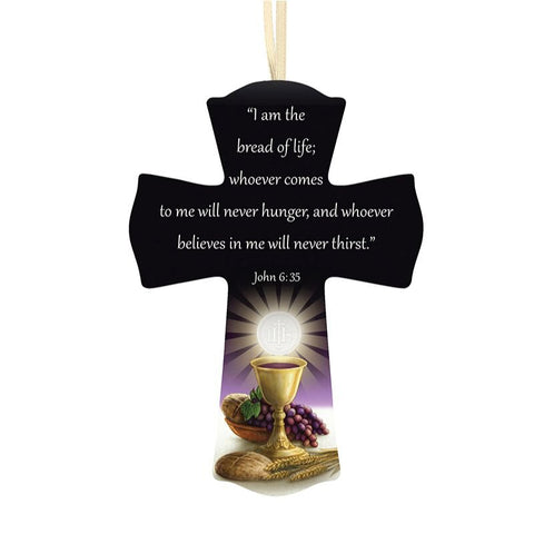 "6"" Bread of Life First Communion Cross"