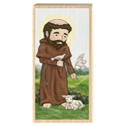 Mini Saint Block - St. Francis of Assisi