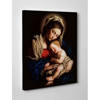 Madonna and Child Gallery Wrapped Canvas 8X10