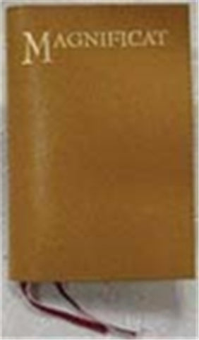 Magnificat Brown semi leather cover
