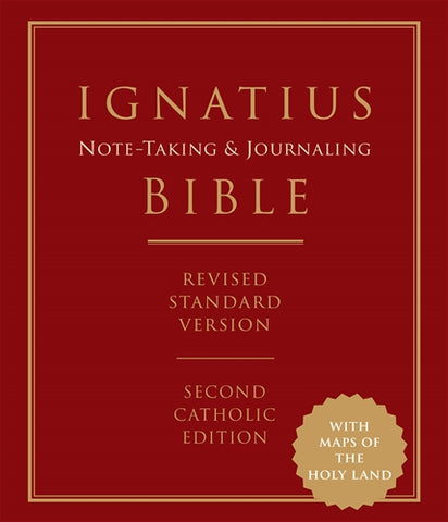 Ignatius Note-taking & Journaling Bible Revised Standard Version, Second Catholic Edition