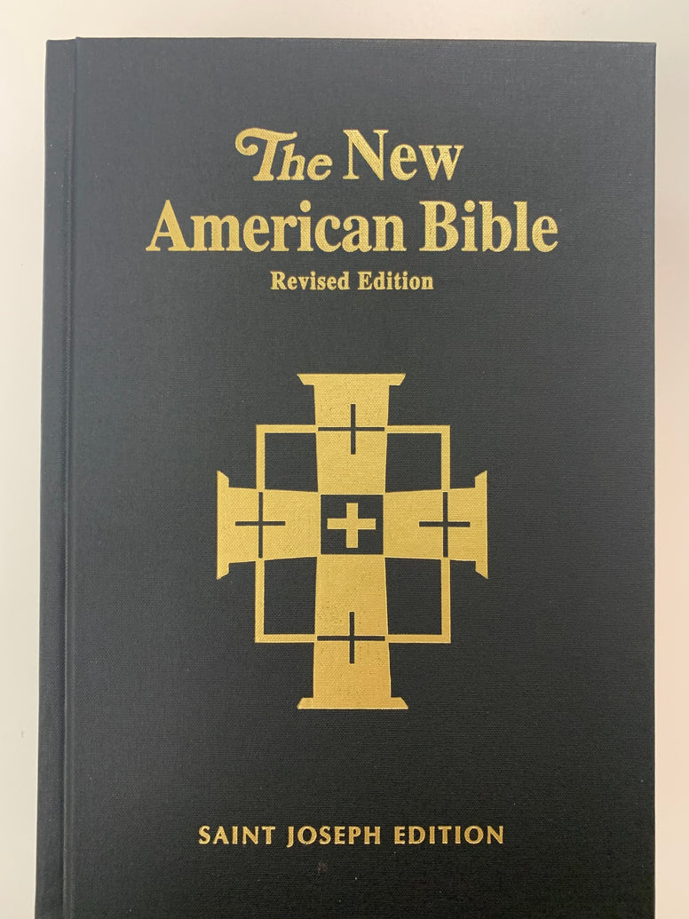 St. Joseph New American Bible RE, Deluxe Student Edition-Full Size, Large Type, Black