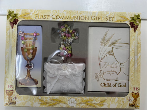 5 PIECE FIRST COMMUNION GIFT SET