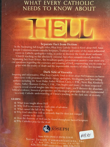 What Every Catholic Needs to Know about Hell  DVD