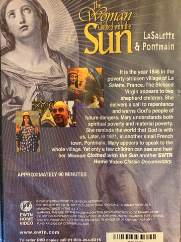 The Woman Clothed with the Sun - LaSalette & Pontmain  EWTN Network DVD