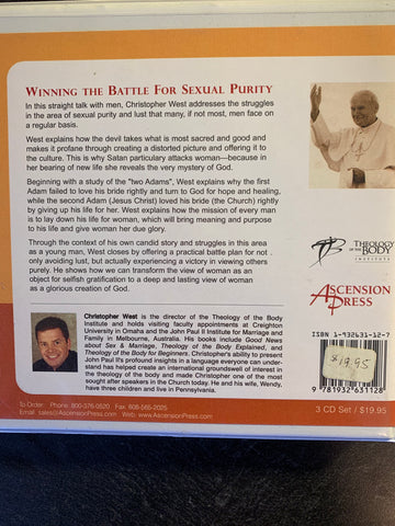 Winning the Battle for Sexual Purity - Straight Talk for Men - 3CD audio set