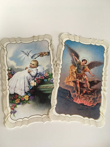 Holy Card, Paper, Assorted